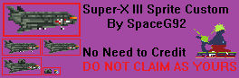Sprite Custom - Super-X 3 v2