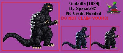Sprite Custom - MogeGoji/Godzilla 1994