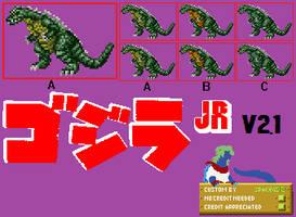 Sprite Custom - Godzilla Junior v2.1