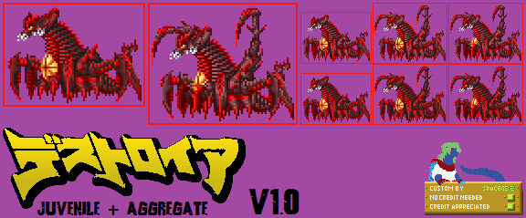 Sprite Custom - Destoroyah Crawling Forms v1.0