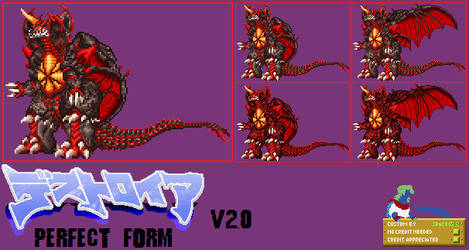 Sprite Custom - Destoroyah Perfect Form v2.0