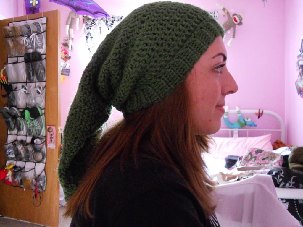Crochet Link Hat: Side View by Mayflower122 on DeviantArt