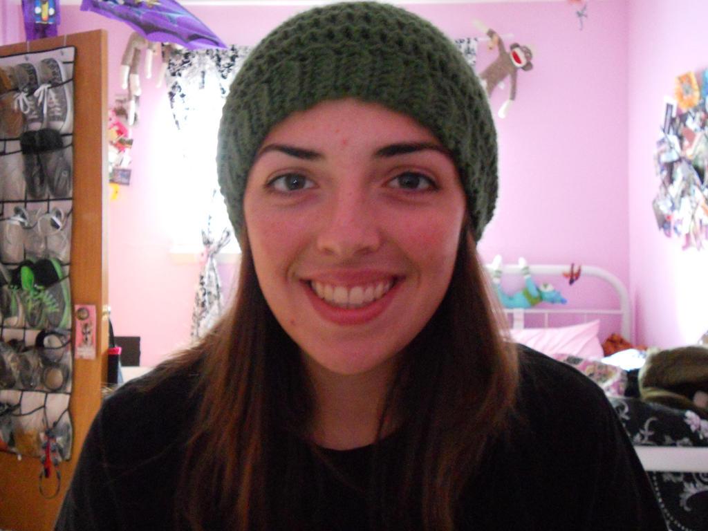 Crochet Link Hat: Front View by Mayflower122 on DeviantArt