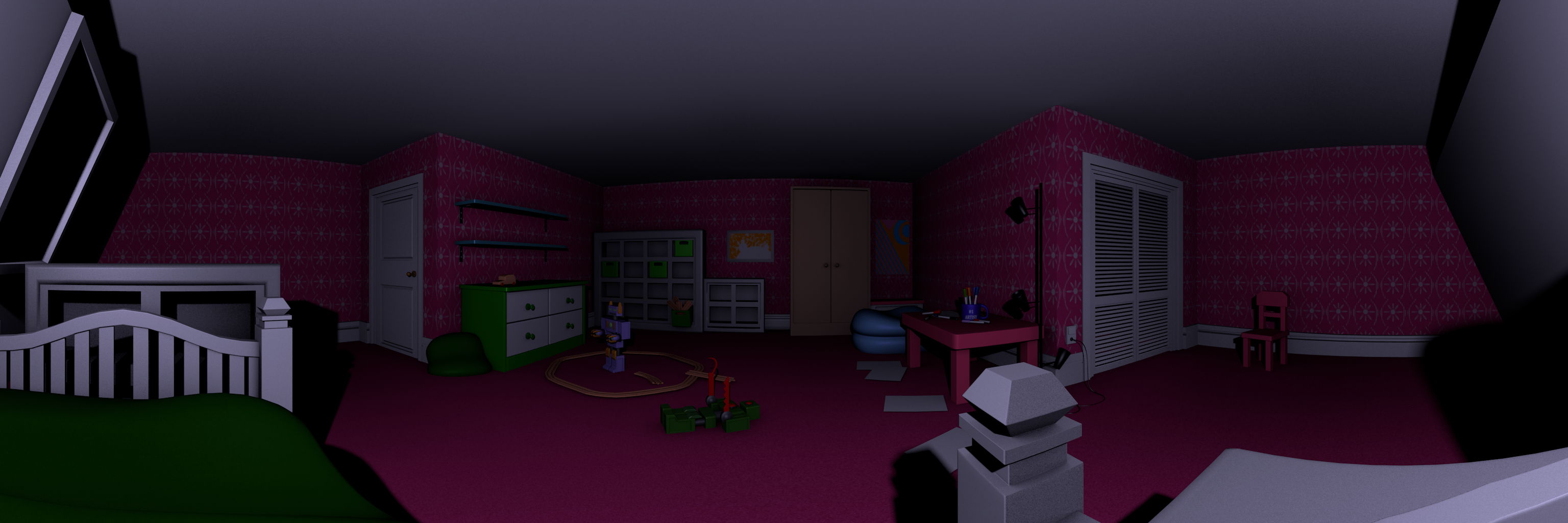 Five Nights At Candy S 3 Map W I P Better Render By