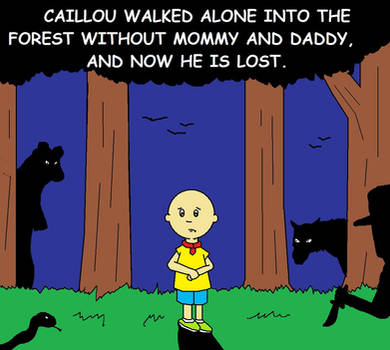 Caillou is Lost