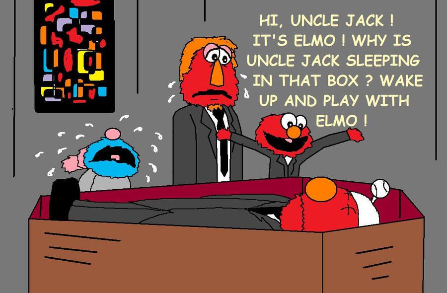 Deuueaugh Elmo: Elmo At A Funeral By AVRICCI On DeviantArt