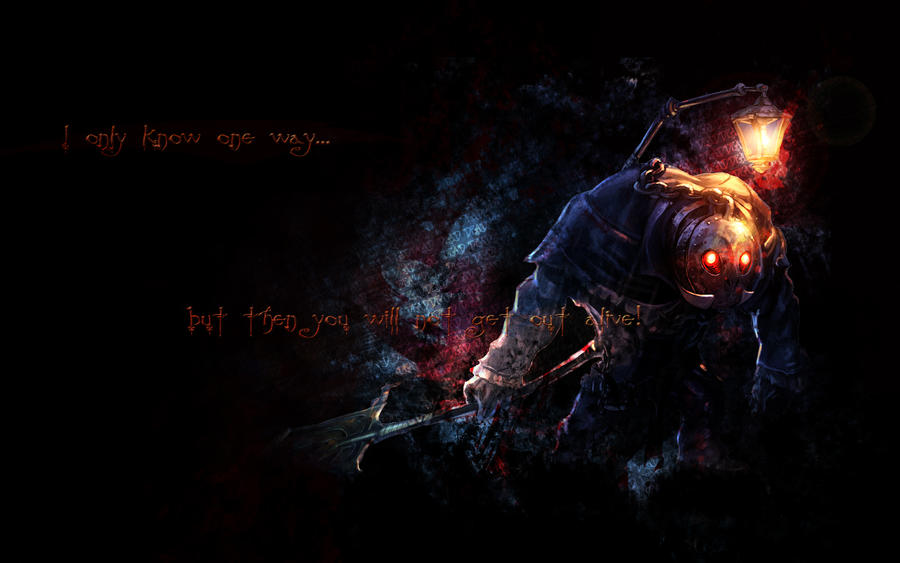 League of Legends Yorick by nmoreKharon on deviantART Yorick League Of Legends Wallpaper
