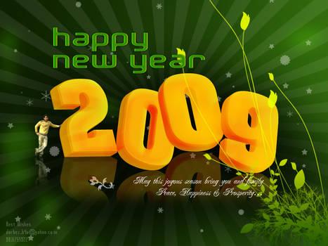 Wish U Happy New year 2009