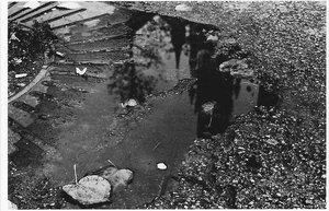 church in puddle by Fontein