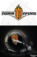 Indiana Inferno Logo by AiDub