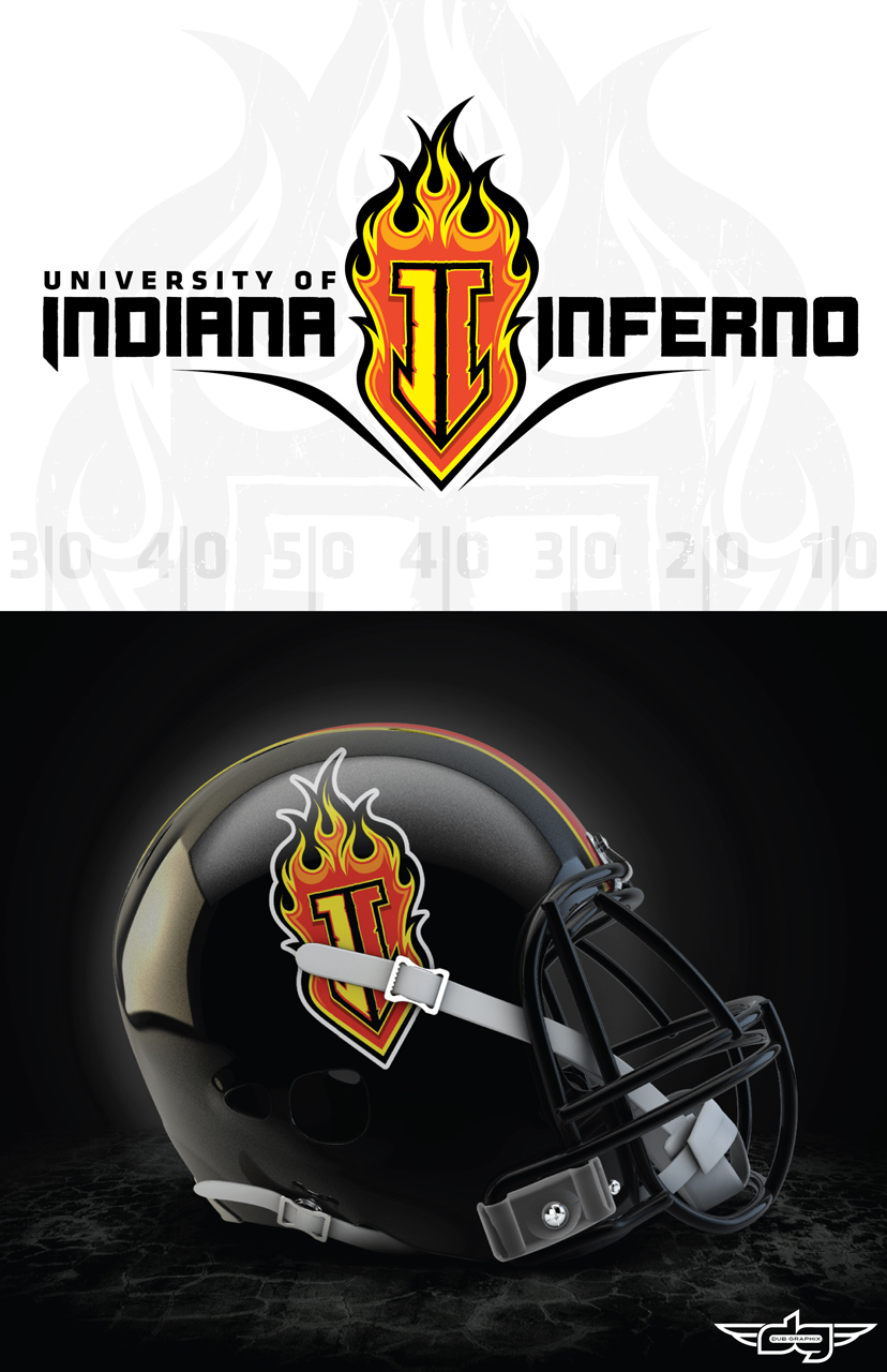Indiana Inferno Logo by AiDub