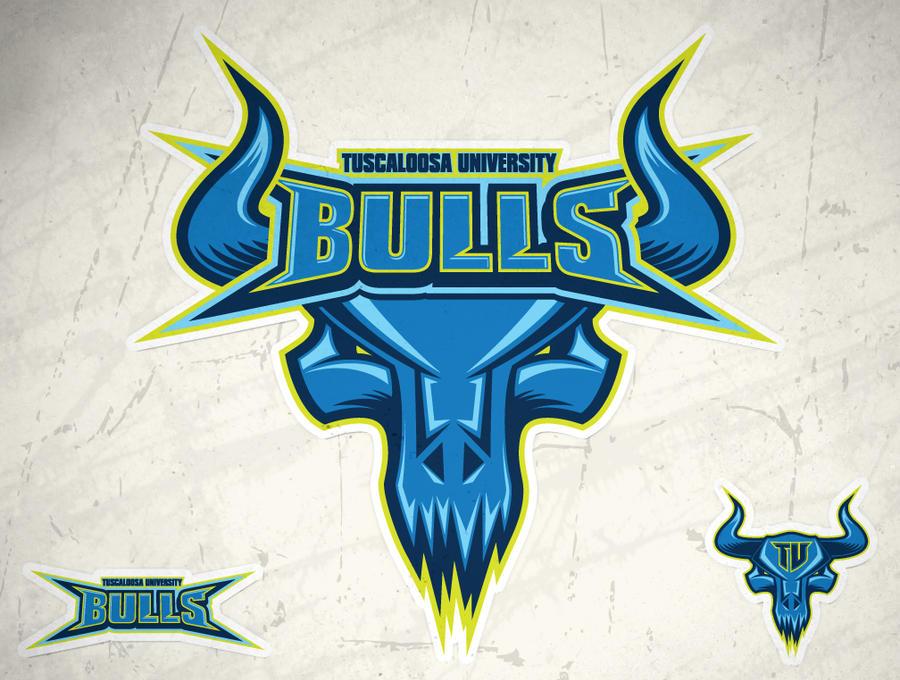 Tuscaloosa Bulls Logo by AiDub