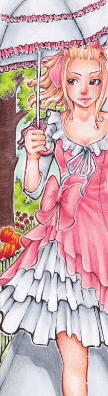 Bookmark Marie-Louis by Anako-Kitsune