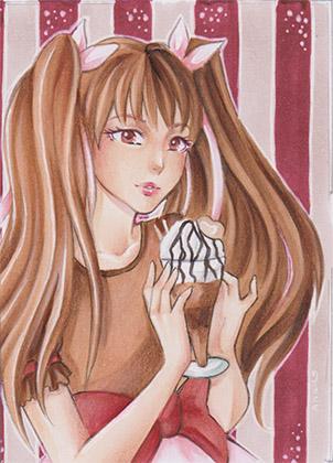 Stella  ACEO by Anako-Kitsune