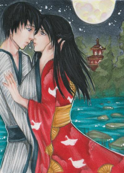 Romantic night by Anako-Kitsune