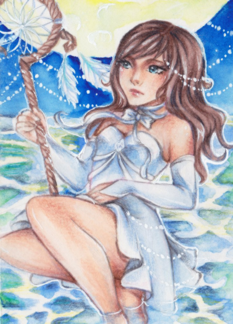 ACEO for Malinya by Anako-Kitsune