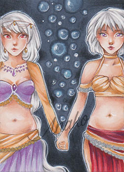 Bound together ACEO