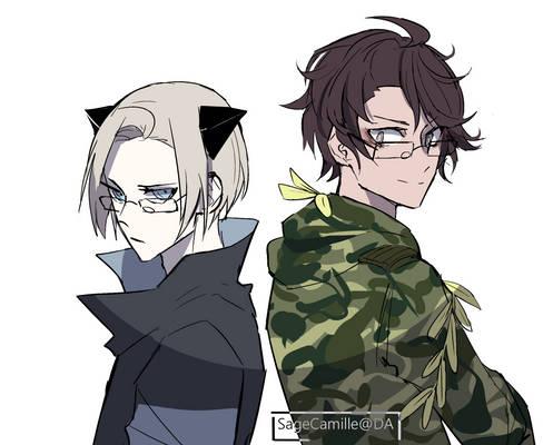 Square glasses gang