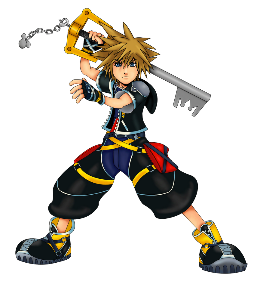 Sora Kingdom Hearts 1520074: Sora (KH Series) Runs The Final Fantasy Gaunlet