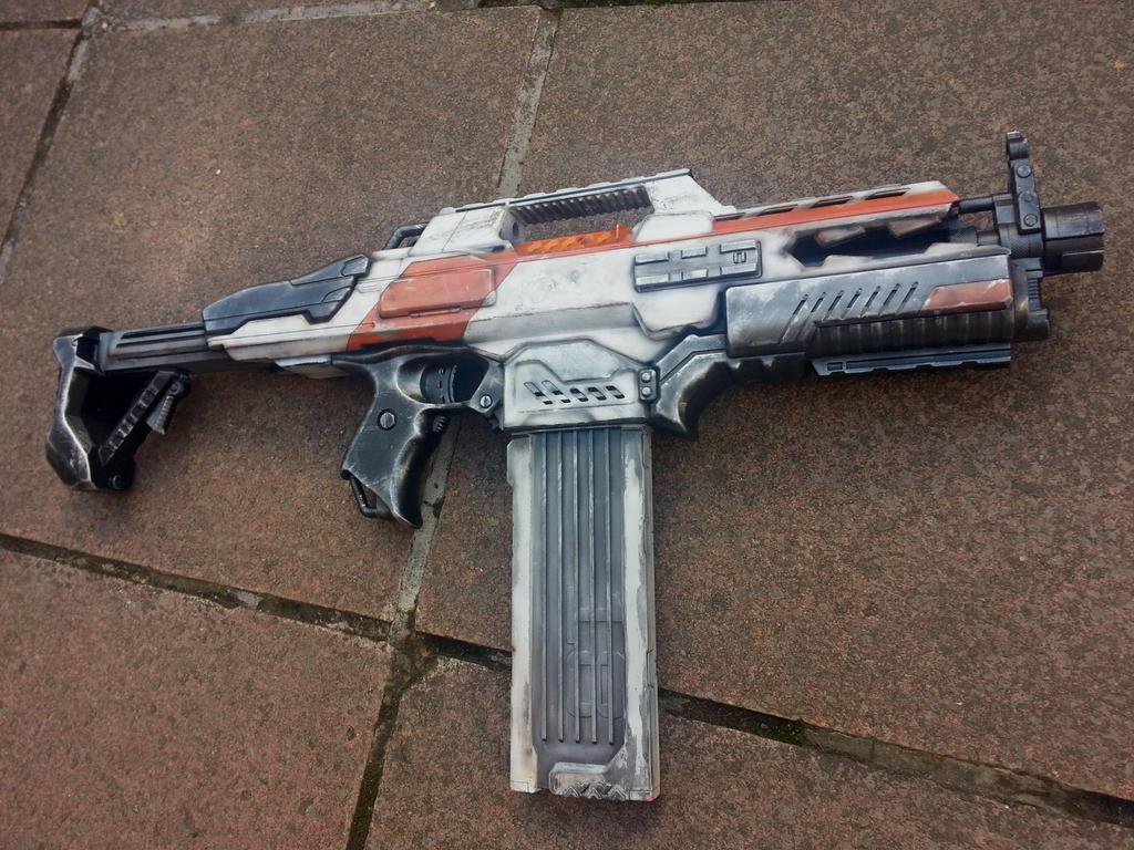 Custom Paint Jobs For Nerf Guns