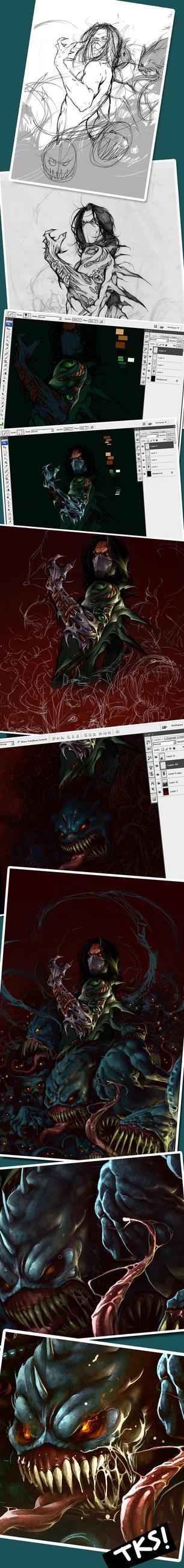 Darkness Details by abraaolucas