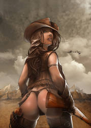 Cowgirl by abraaolucas
