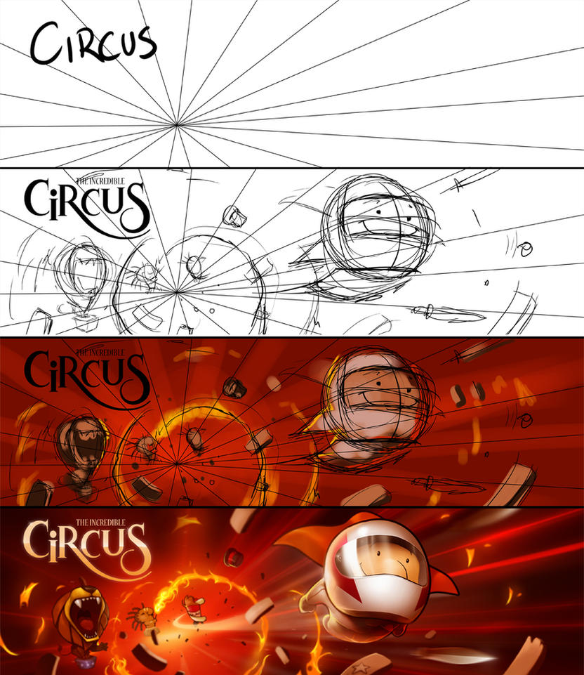 Incredible Circus - steps by abraaolucas
