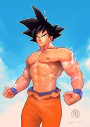 Goku by abraaolucas