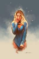 Supergirl by abraaolucas