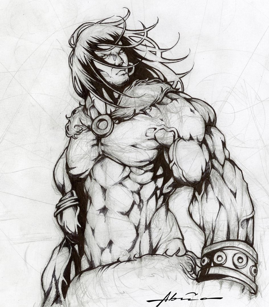 CONAN the barbarian by abraaolucas