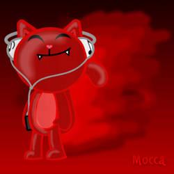 Un gato rojo by PolarCatP