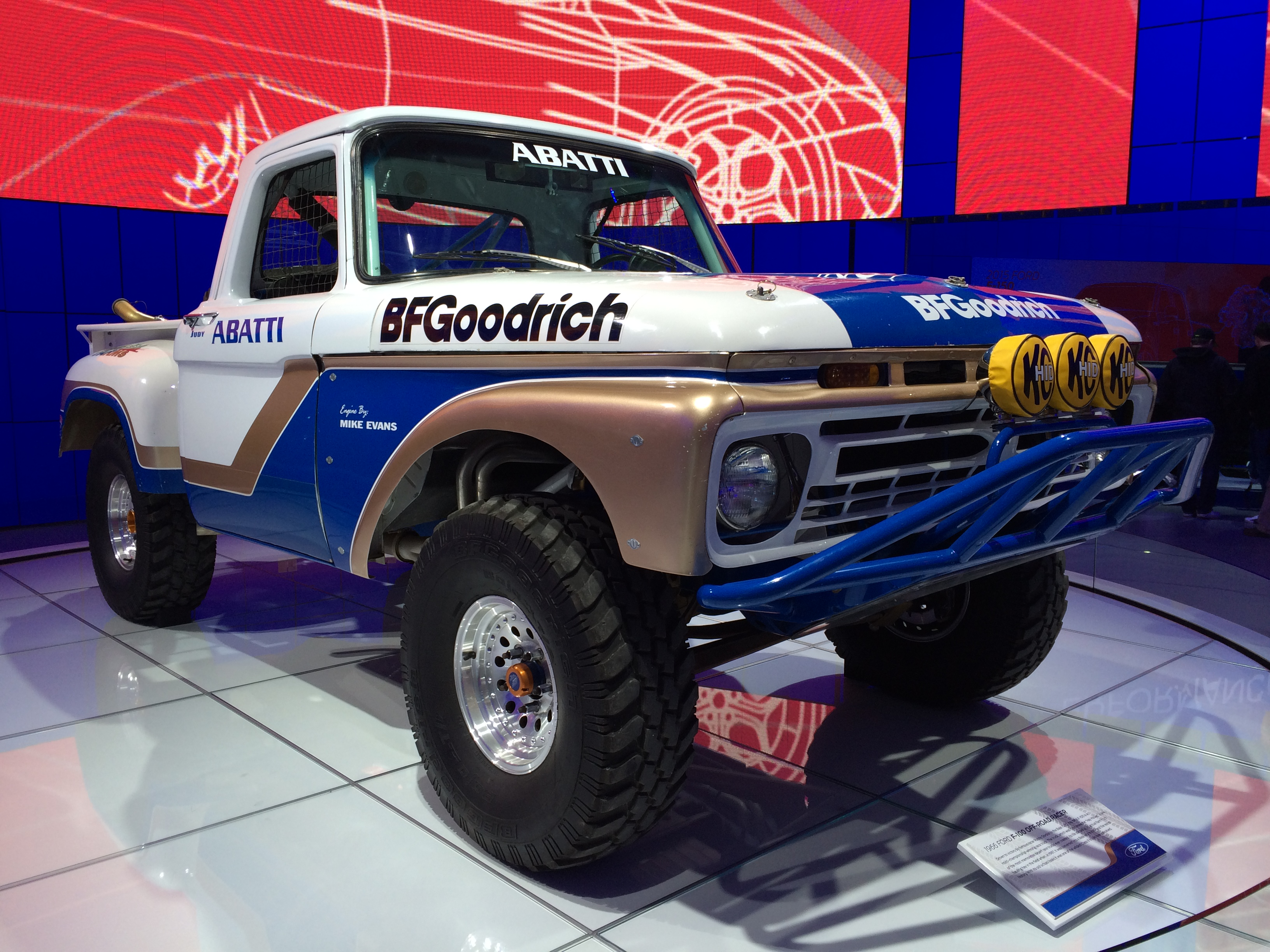 1966 Ford F100 Rally Off-Road Truck by AirJordanSwag on DeviantArt