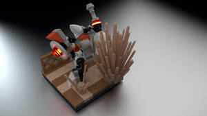 LEGO Robot Overhead