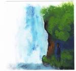Waterfall in Acrylic