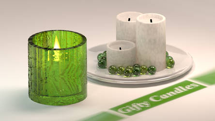 Gifty Candles Mock Ad by KingRegicon