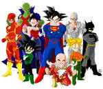 Crossover Dragon Ball Z - Justice League