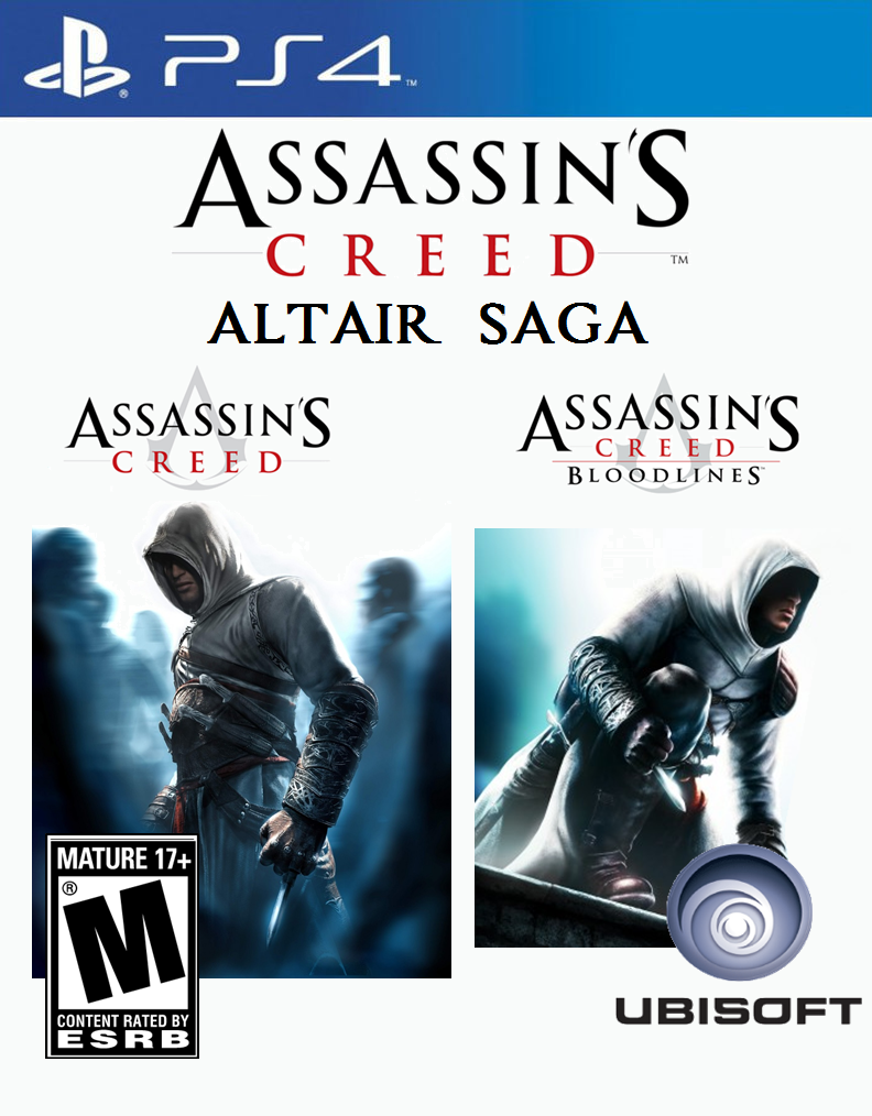 Assassin S Creed Altair Saga Ps4 Idea By Varimarthas5 On Deviantart
