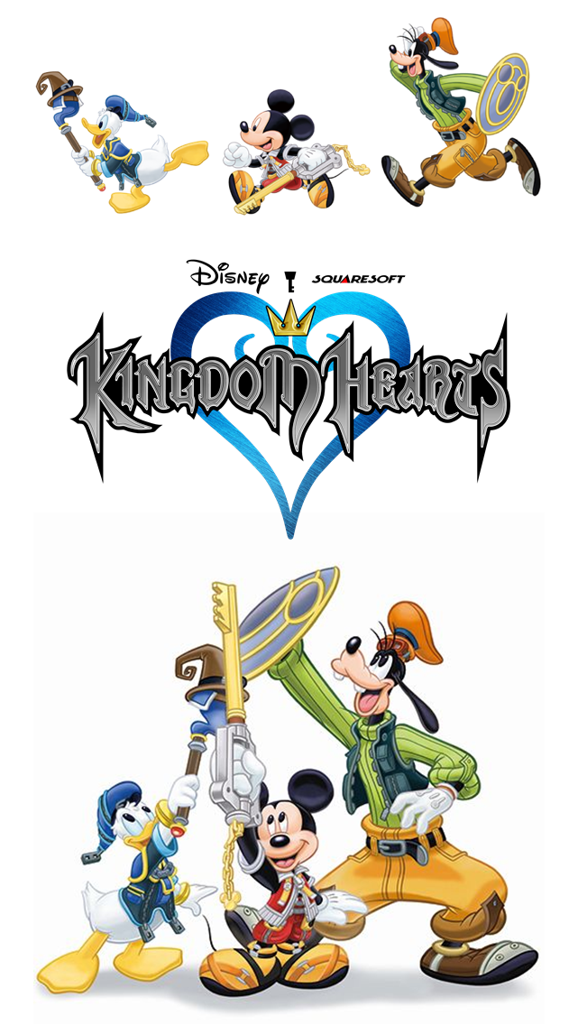 Kingdom Hearts Disney Wallpaper Iphone 5 By Varimarthas5 On Deviantart