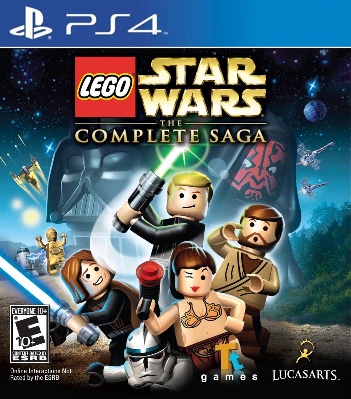 lego star wars the complete saga ps4 idea