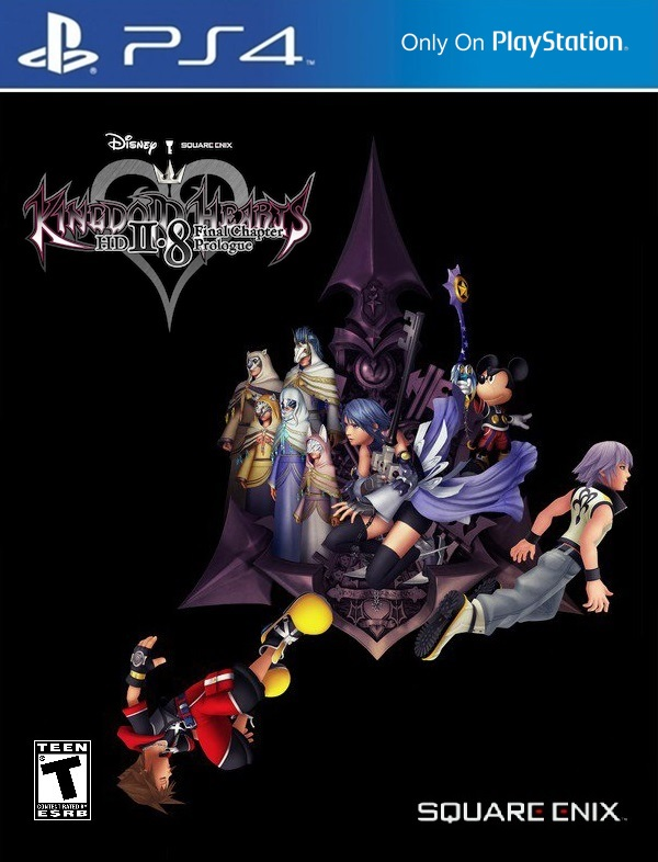 Kingdom Hearts 2 8 Another Cover (Idea) by Varimarthas5 on