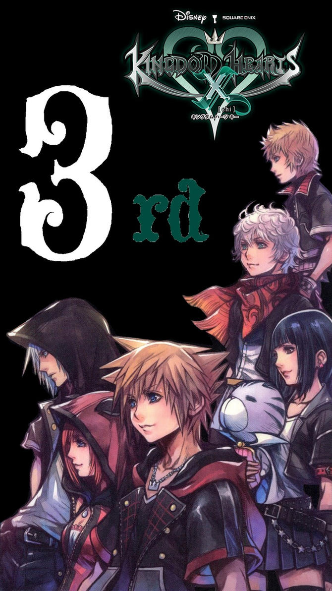 Kingdom Hearts X 3rd Anniversary IPhone Wallpaper By Varimarthas5