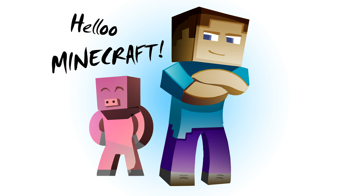 Minecraft Steve by Enr1