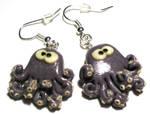 Octopus, earings