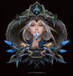 Frozen (Ashe from League of Legends Fanart)
