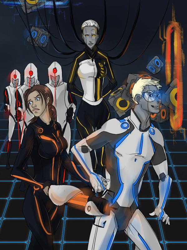 Tron Laboratories by atropomorph