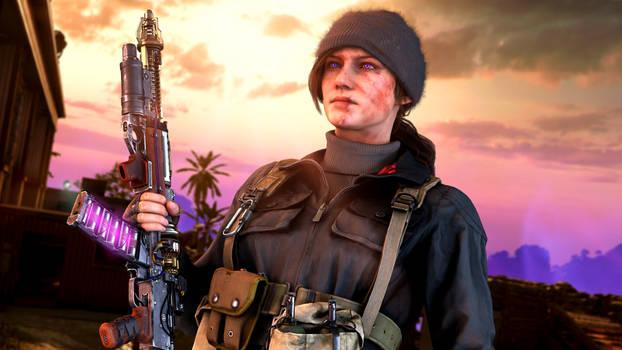 Samantha Maxis alt - Firebase Z [Cold War Zombies]