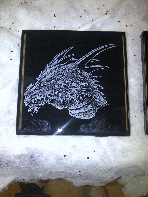 4x4 Dragon Coaster by ckatt01