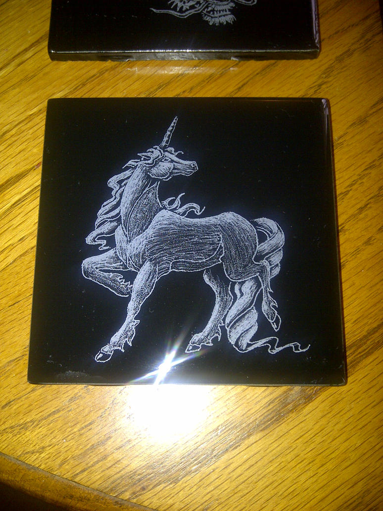 4x4 Unicorn Coaster by ckatt01