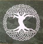 Tree Of Life - Tile by ckatt01