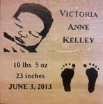 Victoria Baby Tile - Tile by ckatt01